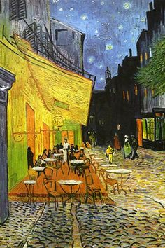 #vangogh cafe terrace at night