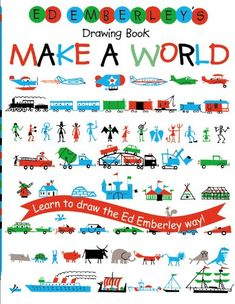 Ed Emberley's Drawing Book: Make a World by Ed Emberley http://www.amazon.com/dp/0316789720/ref=cm_sw_r_pi_dp_VVEnvb0TSCD7R