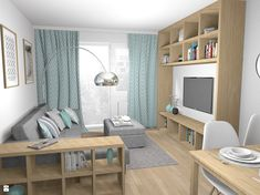 Pracownia Kardamon z Krakowa oferuje aranżacje i projektowanie wnętrz. Specjalizujemy się w projektowaniu małych mieszkań i niewielkich przestrzeni dla firm, kładąc nacisk na maksy ...