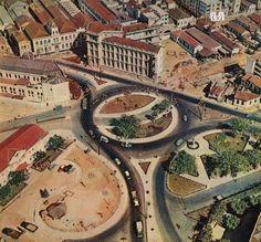 Abertura da Avenida Independência, atual Avenida Presidente Itamar Franco.