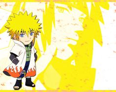 Minato Namikaze is a character from the manga and anime Naruto