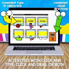 Slide56 Work Activities, Science Resources, Classroom Resources, Teacher Resources, Kindergarten Teachers, Kindergarten Activities, Magic E Words, Teaching Calendar, Cvce Words