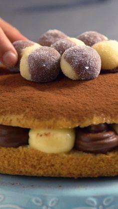 A combinação perfeita do doce casadinho em um bolo bem fofinho e saboroso!