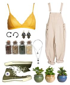 """Untitled #45"" by thecutecactus on Polyvore featuring Converse, Topshop and Madewell"