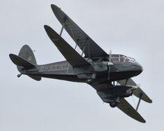 De Havilland Dragon Rapide DH 89 - Royal Air Force - passenger & communications - World War 2