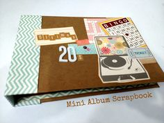MIni Album Scrapbook.... Mis ultimos 20s* Creaciones Izzy