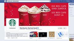 Starbucks Schweiz - vielseitige Inhalte. Man merkt hier, dass sie internationale Inspiration haben. Antworten gut auf Fragen, engagieren die Community. Starbucks, Toffee Nut, Mocha, Latte, Gingerbread, Facebook, Inspiration, Switzerland, Things To Do