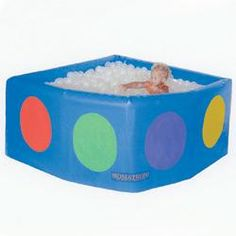 This Vibroacoustic Sensory Ballpool offers the ultimate multisensory experience! Glowing balls slowly change color for visual interest. Wight provides tactile and deep-pressure sensations & gentle music and sound vibrations soothe and relax.  http://www.flaghouse.com/Vibroacoustic-Sensory-Ballpool-item-34612
