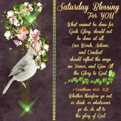 Saturday Blessing For You saturday saturday quotes saturday blessings saturday images
