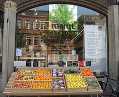 Marqt - a beautiful store where you can buy food directly from the farmer, producer and maker. High quality,  seafood, meat, vegetables, cheese and breads. Most of the products are organic.