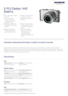 Olympus PEN E-PL3 // specyfikacja 1/7 // http://bit.ly/PEN_E-PL3
