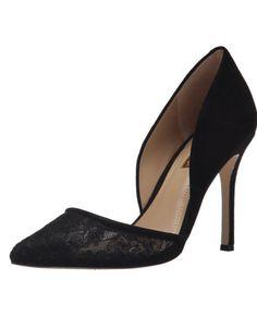 BCBGeneration Tori Pumps http://allthoseshoes.com/shop/bcbgeneration-tori-pumps/ #heels #black #pumps #lace