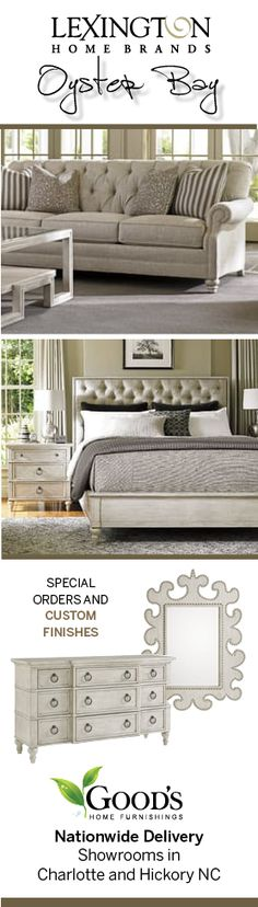 The Oyster Bay Collection By Lexington Furniture And Available At Goodu0027s  Home Furnishings