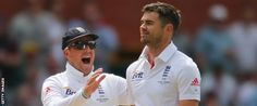 From his Burnley breakthrough to passing 400 Test wickets, BBC Sport traces James Anderson's journey to the top. Test Cricket, Cricket News, One Man Standing, Ian Botham, James Anderson, Wickets, Burnley, Bowling, Legends