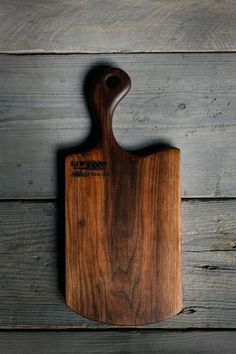 1. Black Walnut Wood Handmade Cutting Board for Serving