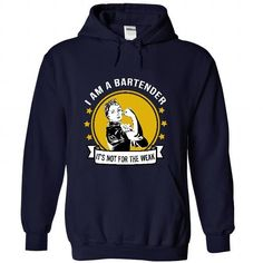 Bartender - Its not for the weak - #housewarming gift #handmade gift. WANT THIS  => https://www.sunfrog.com/LifeStyle/Bartender--It-NavyBlue-51237415-Hoodie.html?id=60505