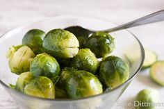 Brussels Sprouts with Warm Vinaigrette – Guest Post by Sofie Dittmann | Ditch The Wheat