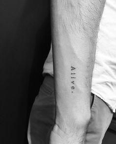 Resultado de imagem para small tattoos for men