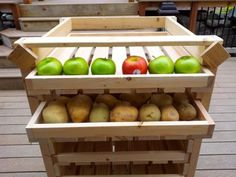 Food Storage Shelf