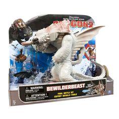 How to Train Your Dragon 2 Bewilderbeast Final Battle Set DreamWorks Figure  #SpinMaster