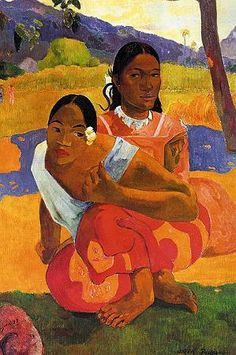 by Paul Gauguin in oil on canvas, done in . Now in a private collection. Find a fine art print of this Paul Gauguin painting. Paul Gauguin, Henri Matisse, Framed Art Prints, Painting Prints, Oil Paintings, Hall Painting, Most Expensive Painting, Expensive Art, Oil On Canvas
