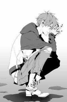 Image via we heart it anime manga, anime boys Anime Boys, Manga Anime, Cool Anime Guys, Hot Anime Boy, Sad Anime, Manga Boy, I Love Anime, Anime Art, Anime Cosplay