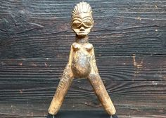 Excited to share this item from my shop: Wooden Sling Sculpture // LOBI // Burkina Faso // Protective African Tool African Necklace, Hand Carved, Carving, Necklaces, Etsy Shop, Sculpture, Traditional, Vintage, Wood Carvings