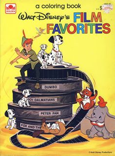 Goofy Coloring Book Whitman 1154 1970