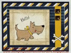 card by Darla Haverstock using CTMH Tommy papers