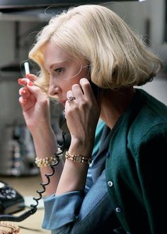 #CateBlanchett as Carol Aird in 2015 film #Carol