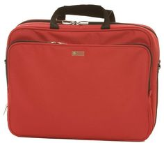 "The best 17""laptop bag and 15"" MacBook  case.  Casauri New portfolio in red"