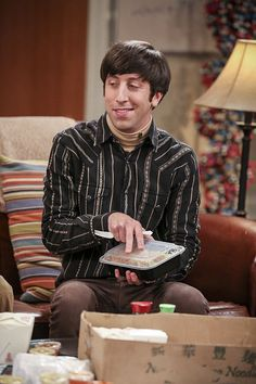 "The Big Bang Theory ""The Brain Bowl Incubation"" Big Bang Theory Characters, The Big Theory, Simon Helberg, Funny Quotes, Funny Memes, Memes Humor, Howard Wolowitz, Friday Humor, Funny Friday"