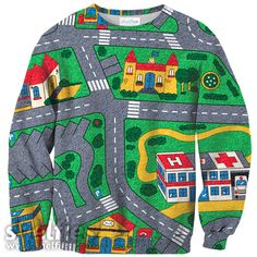 Carpet Track Sweater – Shelfies