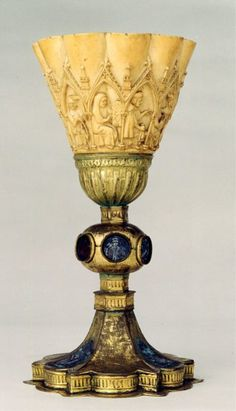 The Visconti Sforza. Enamels and gold, ca. 15th century.