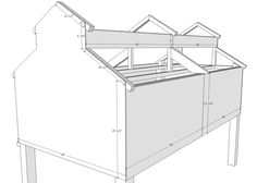 Chicken coop designs and ideas are essential when raising poultry. With this updated list, building a chicken coop has never been easier! Chicken Coop Building Plans, Chicken Coop Plans Free, Cute Chicken Coops, Chicken Coop Designs, Backyard Chicken Coops, Chickens Backyard, Portable Chicken Coop, Chicken Garden, Keeping Chickens