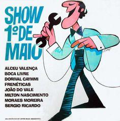 Capa do vinil Show 1º de Maio (1980)
