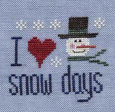 Snow Days Freebie - Glory Bee