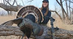 Cara Harper Bags Her First Bow Turkey. And It's a Merriams Bowhunting, Nebraska, Country Girls, Turkey, Bows, Game, Outdoor, Arches, Outdoors