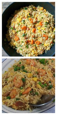 Easy and yummy way to make your favorite take-away Chinese Special Fried Rice. Just 10 minutes to make! Seafood Appetizers Seafood Appetizers Appetizers Appetizers for a crowd Appetizers parties Rice Recipes For Dinner, Side Dish Recipes, Asian Recipes, Healthy Recipes, Thanksgiving Dinner Recipes, Seafood Appetizers, Seafood Recipes, Chicken Recipes, Special Fried Rice Recipe