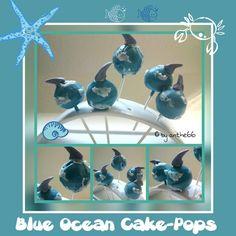 'Blue Ocean Cake-Pops'