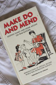 Mending -- I want this book!