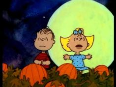 Its The Great Pumpkin Charlie Brown  I'm sorry... In this day an age, seasonal stuff like this should be available IN FULL LENGTH online.... Whenever you want... Screw you ABC!