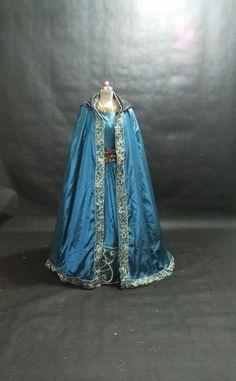 Disney Brave Princess Merida Costume Adult Size 6 8 10 12 14 16 Teal Colour | eBay