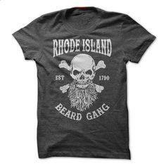 RHODE ISLAND BEARD GANG - #sweatshirts #girl hoodies. BUY NOW => https://www.sunfrog.com/LifeStyle/RHODE-ISLAND-BEARD-GANG.html?60505
