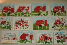 Easy Barnyard Farm Preschool Craft