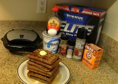Buff Dudes - Protein Waffles Recipe - Low Carb, High Protein