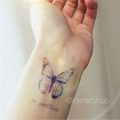 Le Papillon Tatuagem De Borboleta