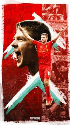 Sports / Steven Gerrard (1080x1920) Mobile Wallpaper