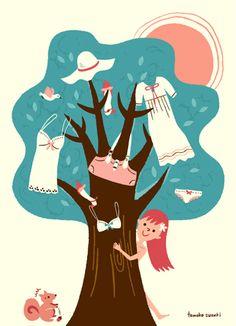 Suzuki Tomoko : Tree Girl