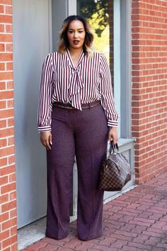 47 Fascinating Casual Work Outfits for Plus Size Women You Should Try Whatever size you're, it's likely to appear amazing. A fantastic plus size choice to your casual work outfits are here. Casual Work Outfits, Business Casual Outfits, Professional Outfits, Mode Outfits, Work Casual, Fashion Outfits, Business Clothes, Curvy Work Outfit, Outfit Work